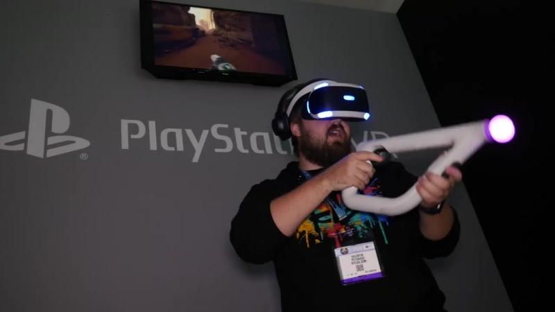 Попробовал другую реальность от Sony. Вспотел!