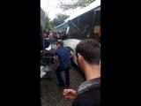 В Сочи рейсовый автобус протаранил фуру