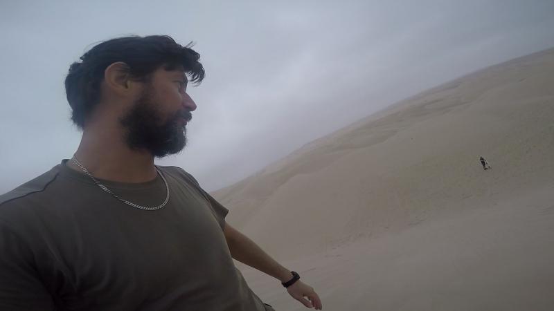 Сэндбординг на песчанных дюнах Паракаса в Перу 21.08.2017