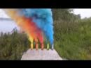 Цветной дым Smoke Fountain (Польша)