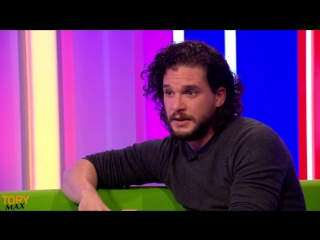 Game of Thrones Kit Harington (Jon Snow) interview (The One Show 20 October 2017) part 2