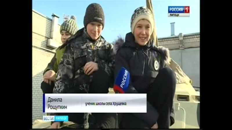 Липецкие кадеты посетили ОМОН и СОБР