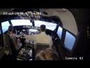 вместе с Анжеленком в кабине Boeing 737NG