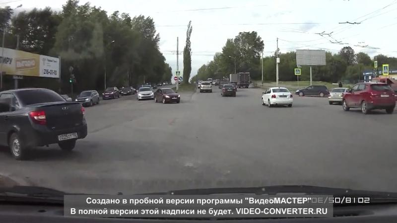 Момент ДТП Сипайлово