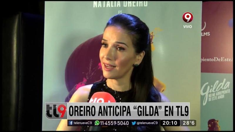 Презентация фильма ,,Gilga, no me arrepinto de este amor( Джильда- я не жалею об этой любви) 01.04.16 г.