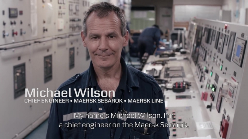 """The Values to me Chief Engineer in Maersk Line, Michael Wilson, on """"Constant Care"""""""
