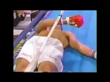 ONE OF THE MOST VIOLENT KOs IN BOXING!! - David Tua Destroying John Ruiz   ММА 95