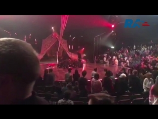 Acrobat Cirque du Soleil died during the show