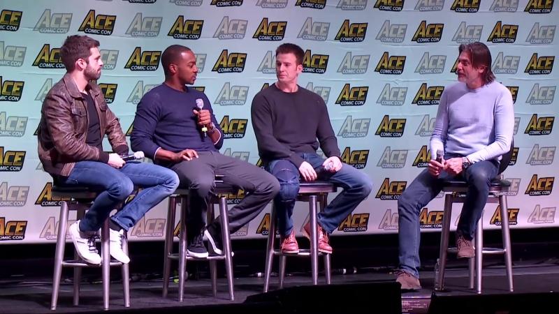 2018   Конвенции   ACE Comic Con   13.01.2018; Аризона, США (полная запись)