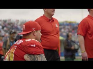 Ричи и ЛеШон на Pro Bowl 2018 Микрофон