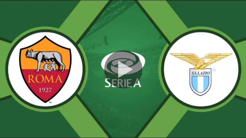 Рома 2:1 Лацио | Итальянская Серия А 2017/18 | 13-й тур | ОБЗОР