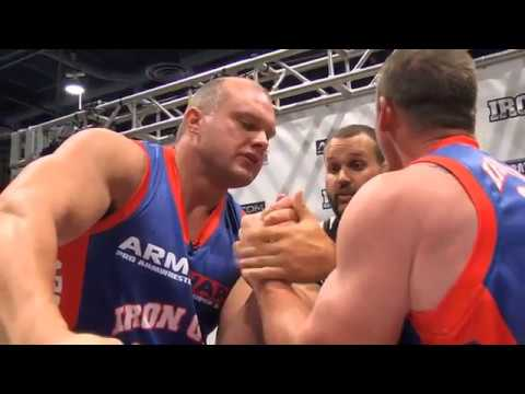 Arm Wars | Armwrestling | Sill USA v Rorbakken NOR