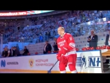 Гала-матч Ночной хоккейной лиги в Сочи появилось видео, как Путин выходит на лед