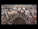 Страшный Суд Божий 05 - Видение Григория, ученика святого и богоносного отца нашего Василия Нового ( 144 X 176 ) Новому Небесном