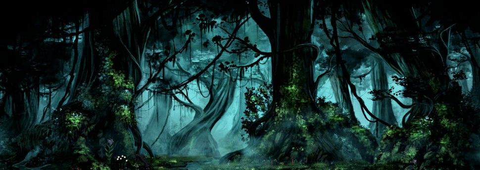 Жуткий лес Y52t_f5D2NA