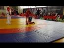 Линьков Артём 2 бой боевое самбо