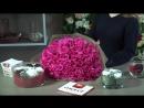 Букет из 25 роз Topaz 70см Эквадор