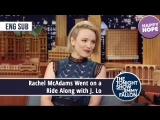 Rachel McAdams Went on a Ride Along with J. Lo eng sub