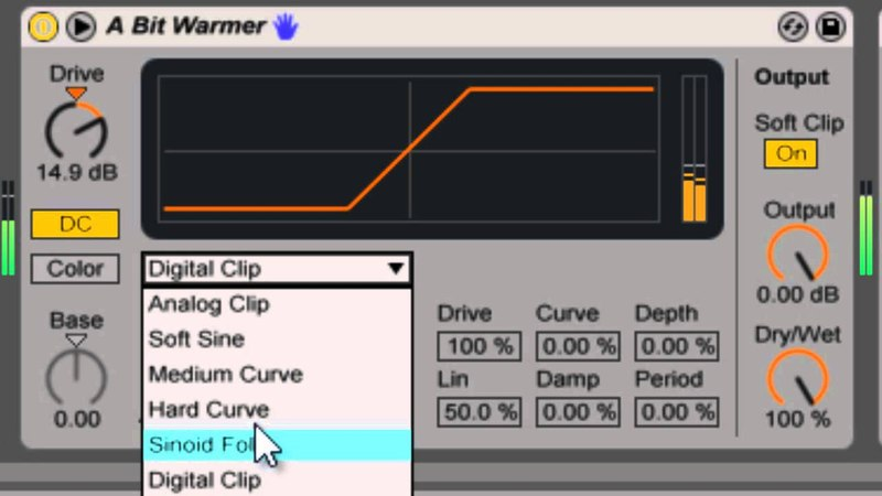 Saturator - Deeflash's Ableton Live Devices Tutorials