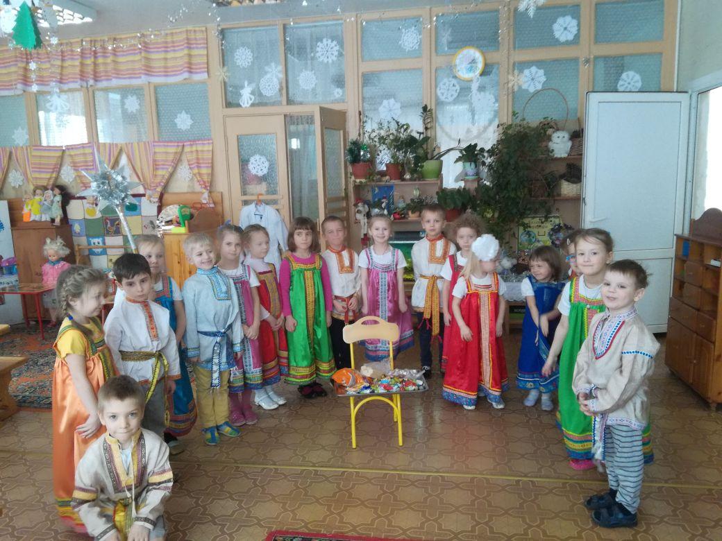 Рождественский праздник в детском саду №56