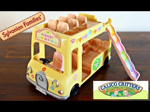 Sylvanian Families Calico Critters Nursery Double Decker Toy Review
