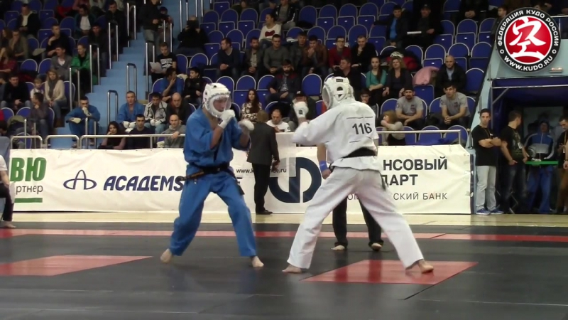 KUDO CHALLENGE - 2016 Ибрагимов vs Пудовкин