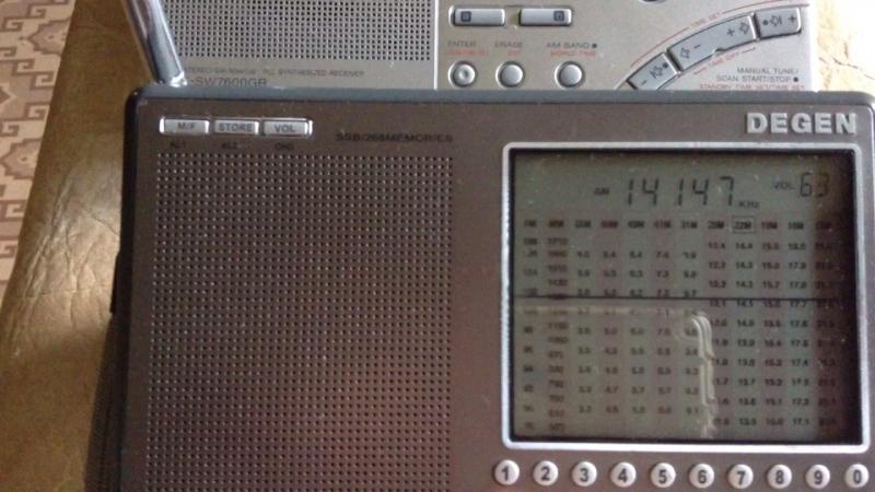 SSB Degen 1103 и SONY SW7600GR
