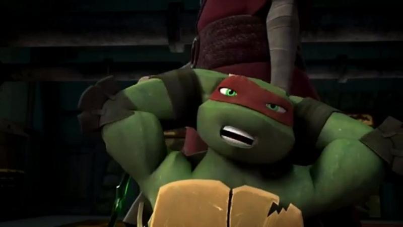 Первая тренировка черепашек-ниндзя отрывок из 1 сезона 1-ой серии Nickelodeon