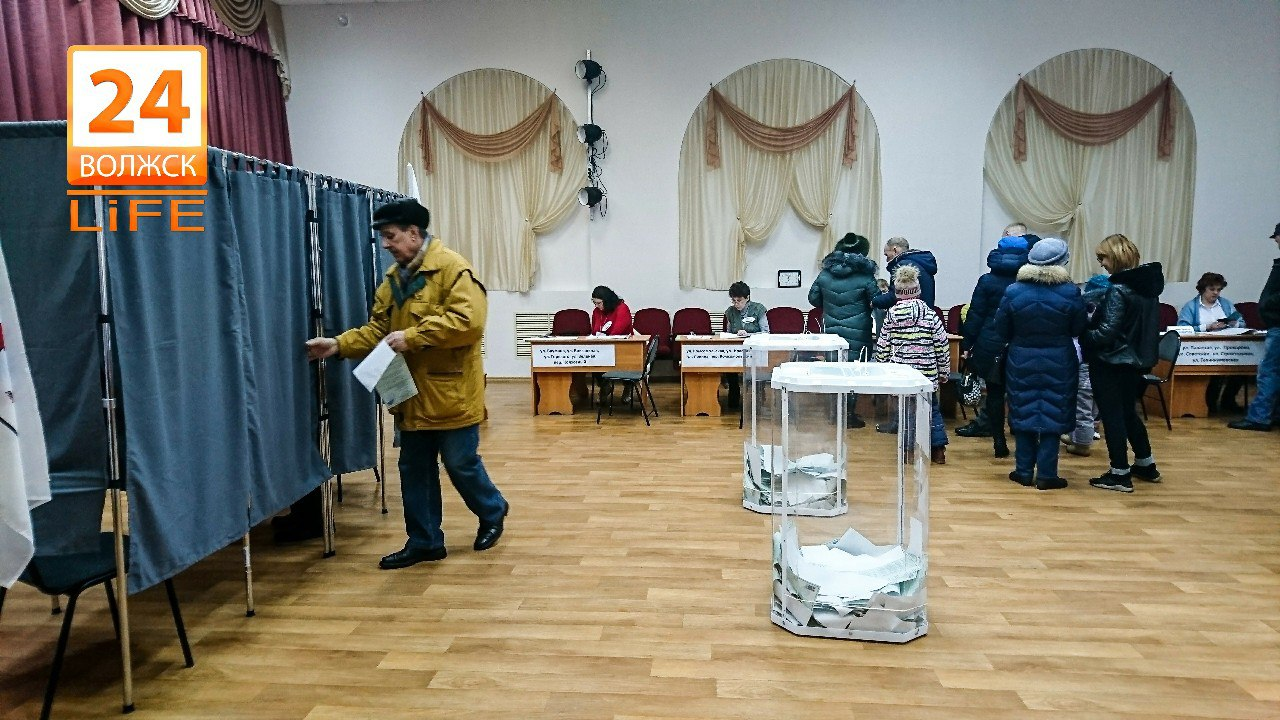 В Волжске явка избирателей составила 53,1%.