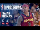 Isaiah Thomas Shows Out In His Cavaliers Season Debut vs The Blazers