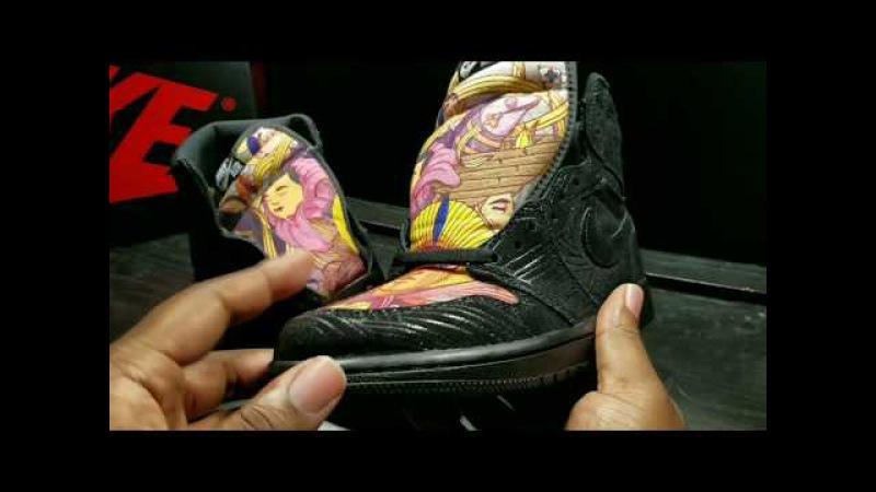 First Look: Air Jordan Retro 1 OG High x POMB E Tudo Nosso Retail Review