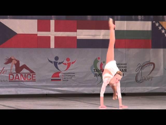 00376 БТО 2015. European Championship. Jazz Dance. Юниоры, соло девушки, 1/2 финала