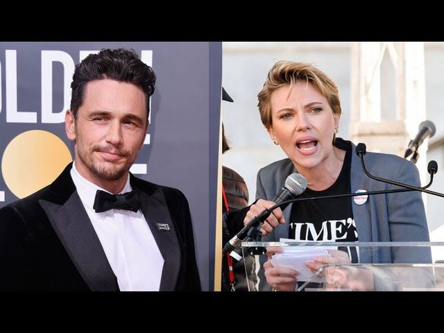 Watch Scarlett Johansson call out James Franco at LA Women's March