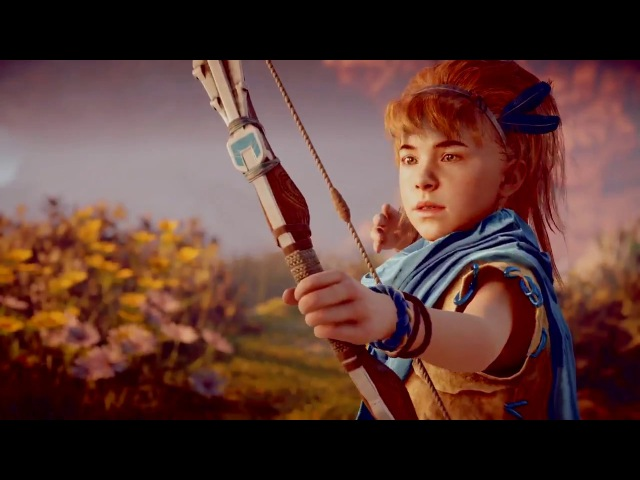 Horizon Zero Dawn The birth of a hero Aloy and his mentor from early childhood to adulthood