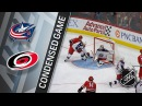 12/16/17 Condensed Game Blue Jackets @ Hurricanes