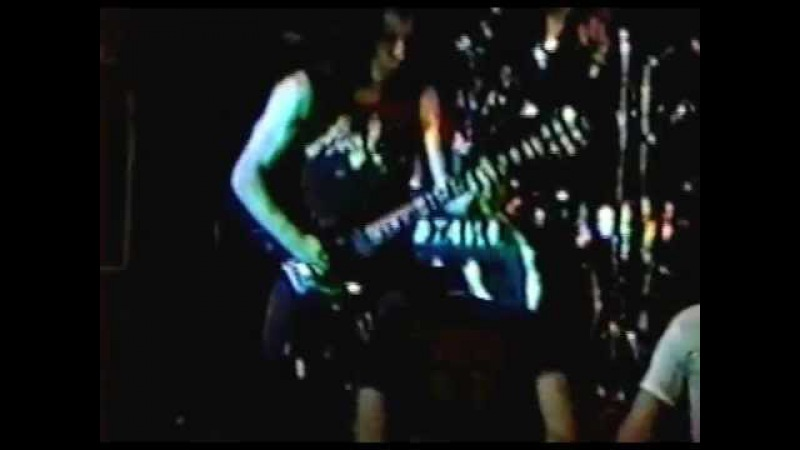 Razor - Live in Norwalk,CT 1988 red border (Part 3)
