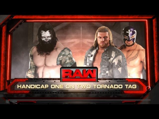SBW Raw - Straight Edge 619 (Edge Rey Mysterio) vs The Nightmare