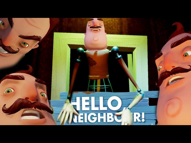 Hello Neighbor СОСЕД ЧИТЕР - ОН ЛЕТАЕТ! - ПРОХОДИМ НА ВЕБКУ