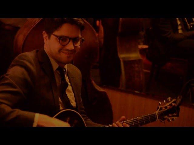 'Blues in Bebop' Kenny Dorham Pasquale Grasso guitar Jon Roche bass Mezzrow NYC 12 6 2015