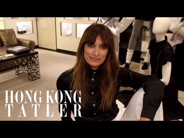 Rapid Fire Interview with Caroline de Maigret in Hong Kong