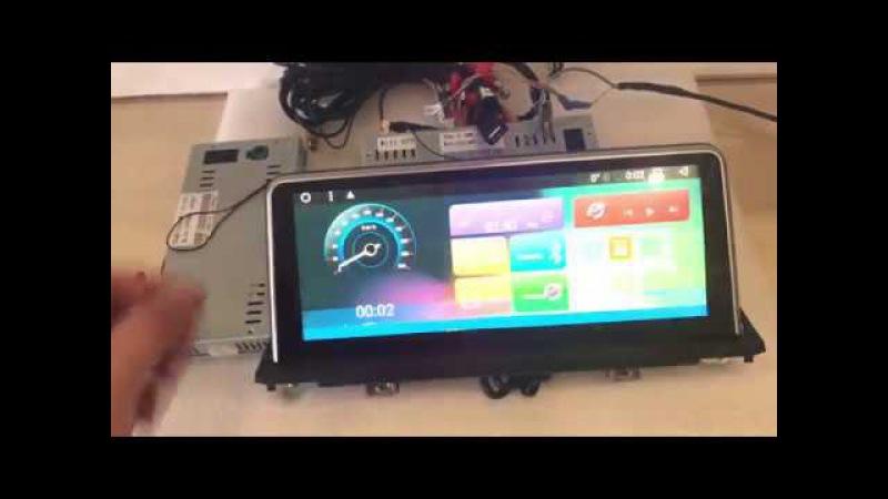 Автомагнитола MegaZvuk T3-9999-1 BMW Х5 / X6 (Е70 / E71) (2007-2014) на Android 6.0.1 10,25