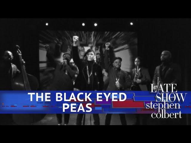 The Black Eyed Peas Perform 'Street Livin'
