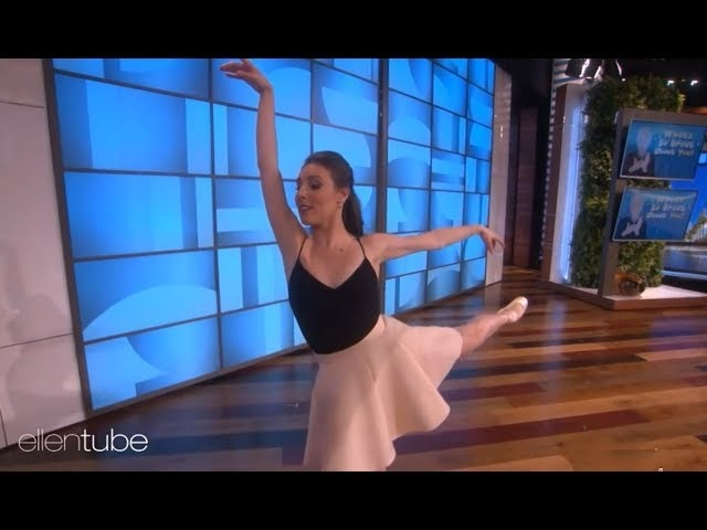 Tiler Peck | First ballerina performance on The Ellen show @theellenshow