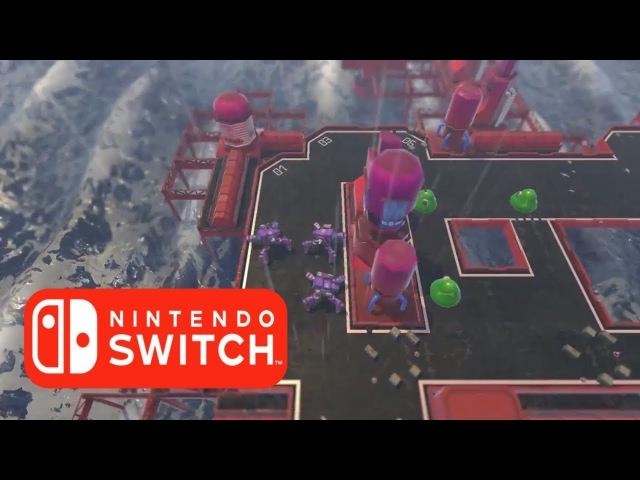 ACORN TACTICS Gameplay Trailer   Nintendo Switch