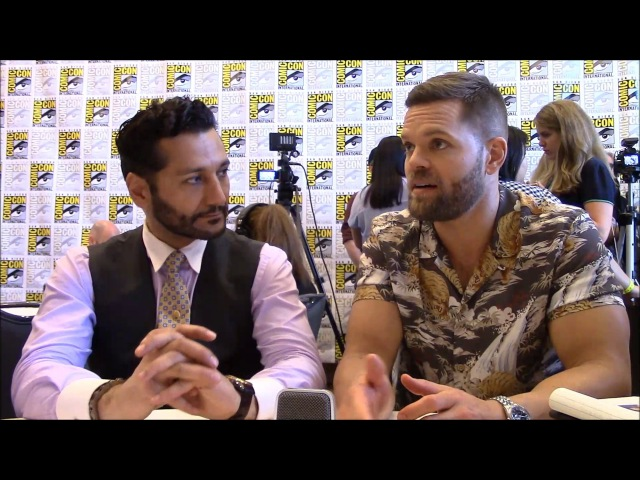 The Expanse - Wes Chatham and Cas Anvar Interview, Season 3 (Comic Con)