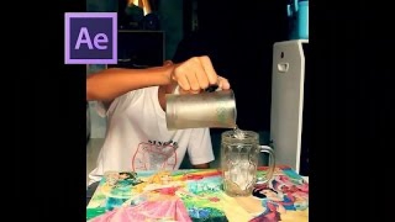 After Effects Tutorial Mengubah Air Menjadi Es 1 Zach King