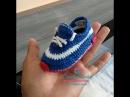 Explicação Sapatinho ICARO de crochê - Tamanho 10 cm - Crochet Baby Yara Nascimento