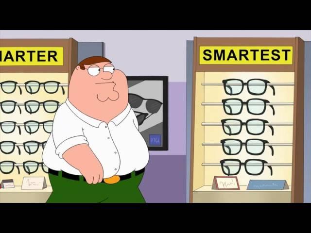 Гриффины [Family Guy] - умные очки