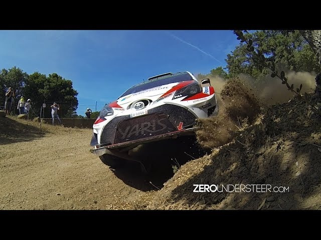 WRC Rally Italia Sardegna 2017 High Speed Gravel Action Jumps Drifts