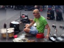 DAMAT Techno street drummer part 1 of 2